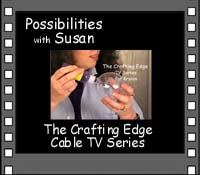 as seen on The Crafting Edge - Cable TV Show